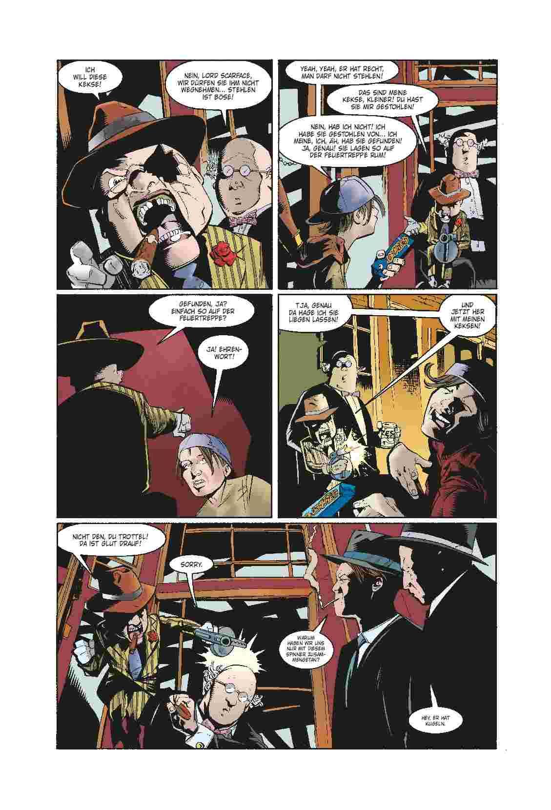Aus dem Inhalt: BATMAN: NIEMANDSLAND 1