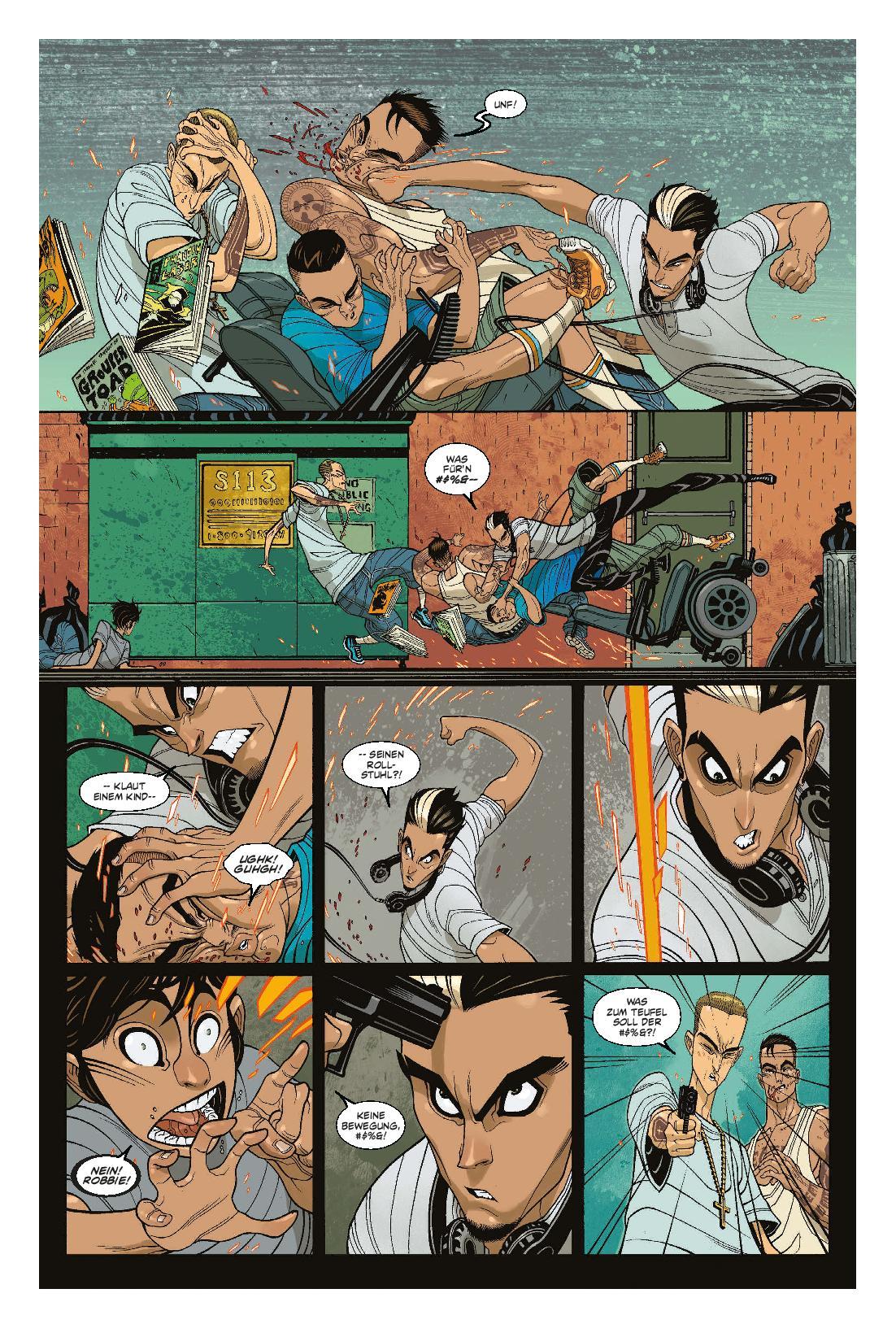 Marvel | GHOST RIDER MEGABAND 1: RACHE AUF RÄDERN | Panini Verlag | Aus dem Inhalt