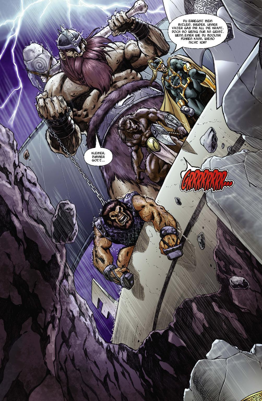 Marvel Comic | THOR: RAGNARÖK | Panini-Verlag (Details)