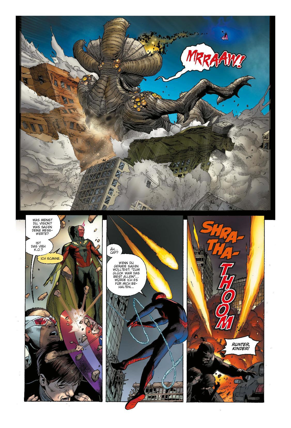 "Marvel Comics | ""Monsters Unleashed - die Monster sind los"" | Panini Verlag | aus dem Inhalt"