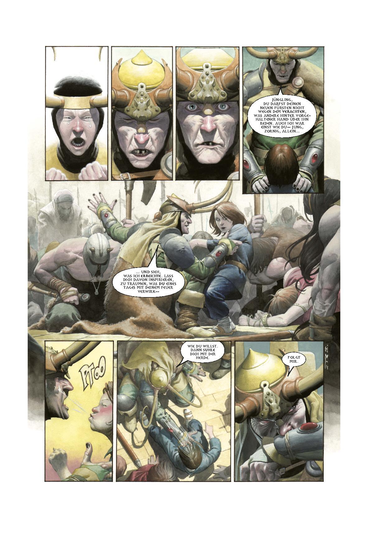 Marvel Comic | LOKI | Panini Verlag (aus dem Inhalt)