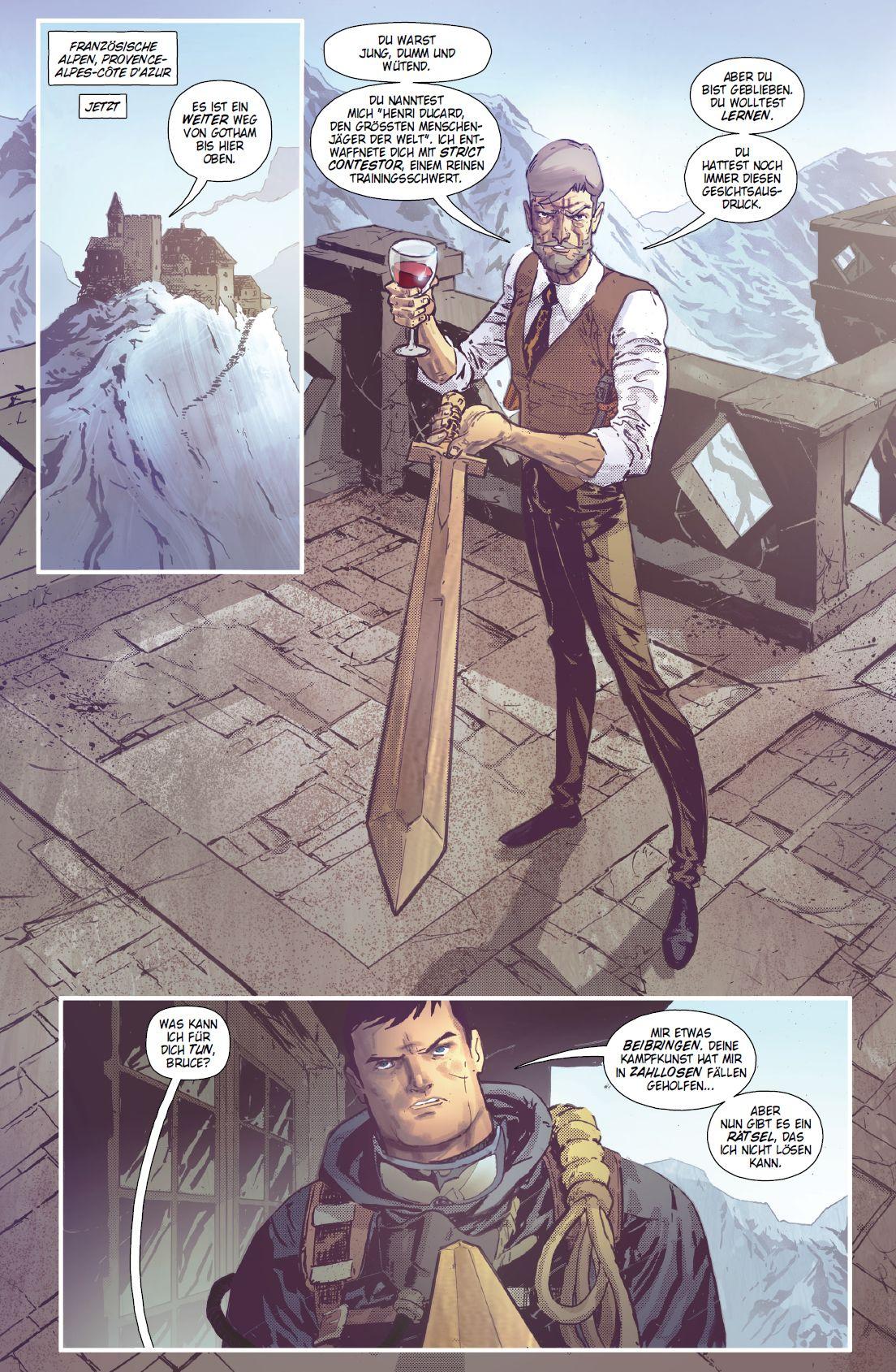 DC Comic: BATMAN & SHADOW | Panini Verlag - aus dem Inhalt