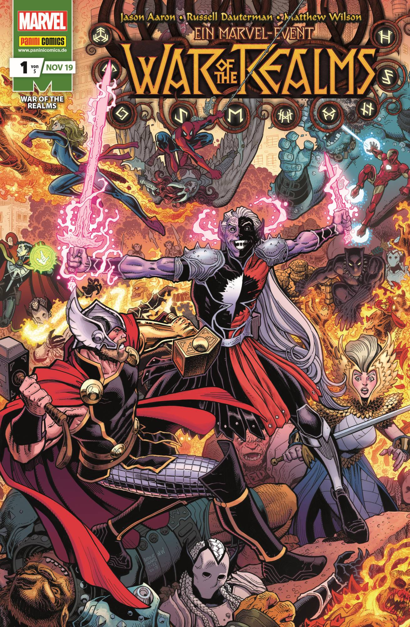 Marvel Event Story: War of the Realms #1-5