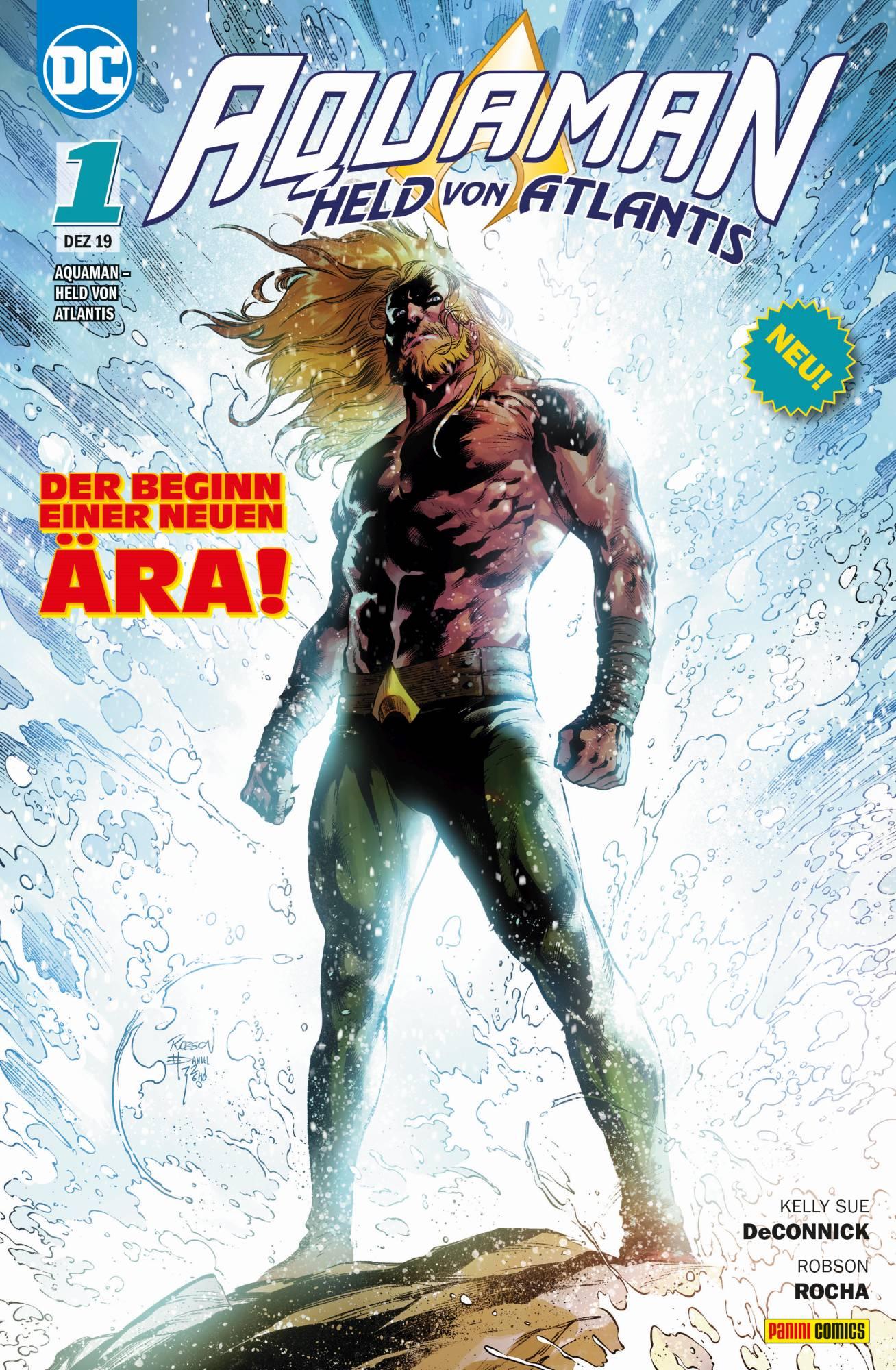 Aquaman: Held von Atlantis Bd. 1 - Stille Wasser