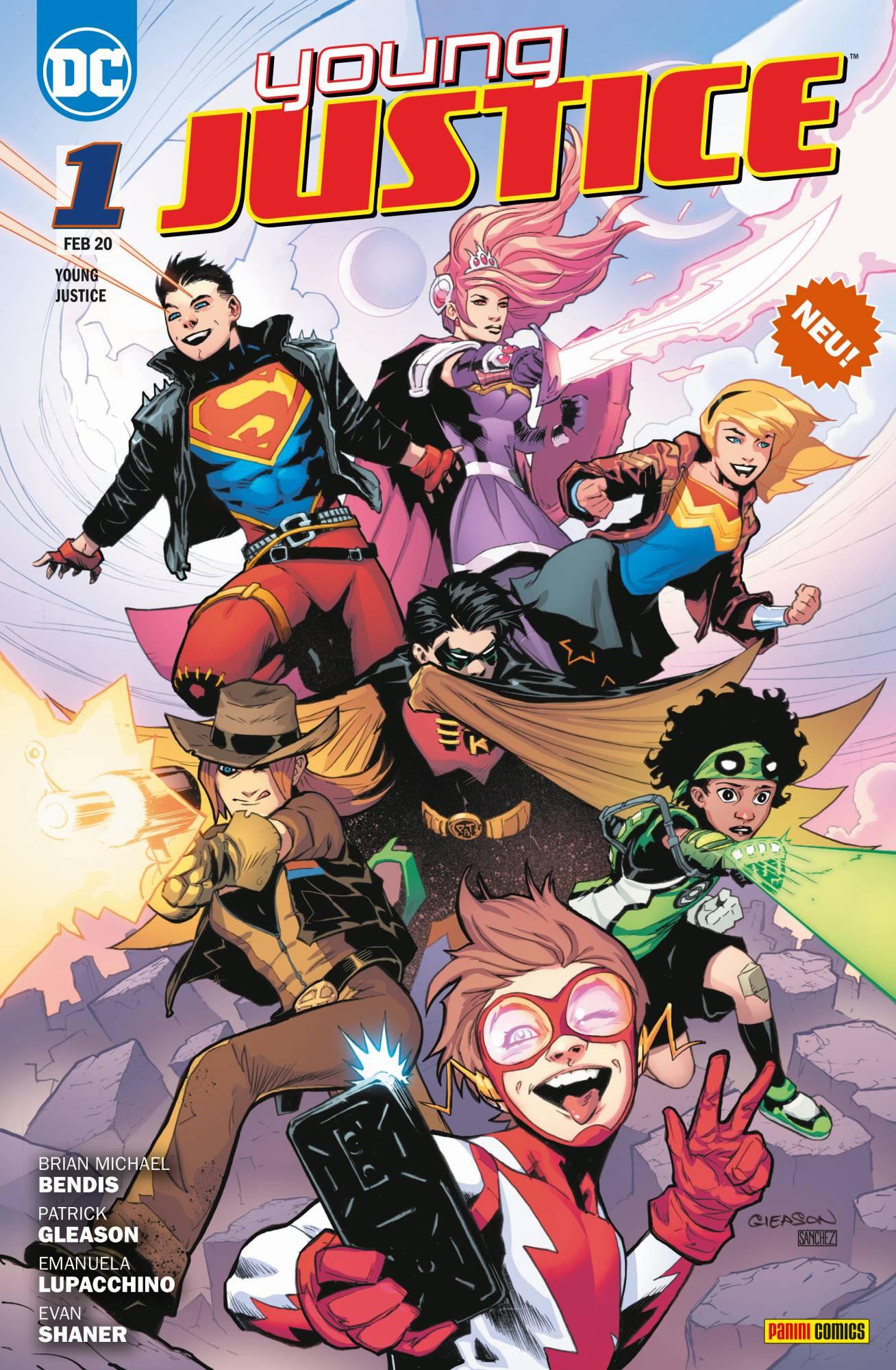 Young Justice Bd. 1 - Sieben Krisen