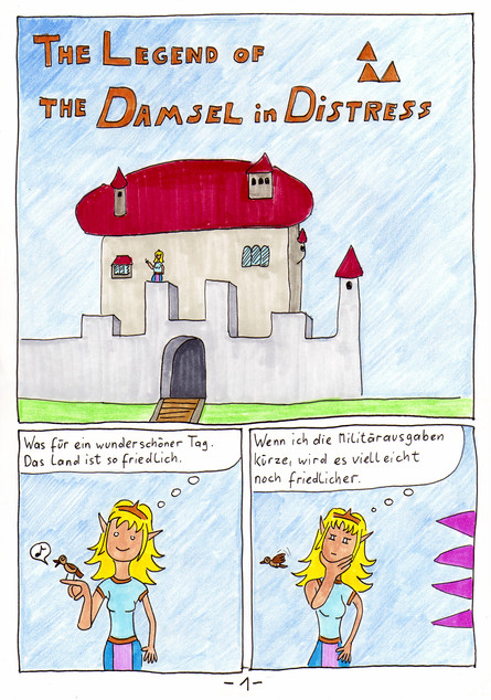 The Legend of the Damsel in Distress