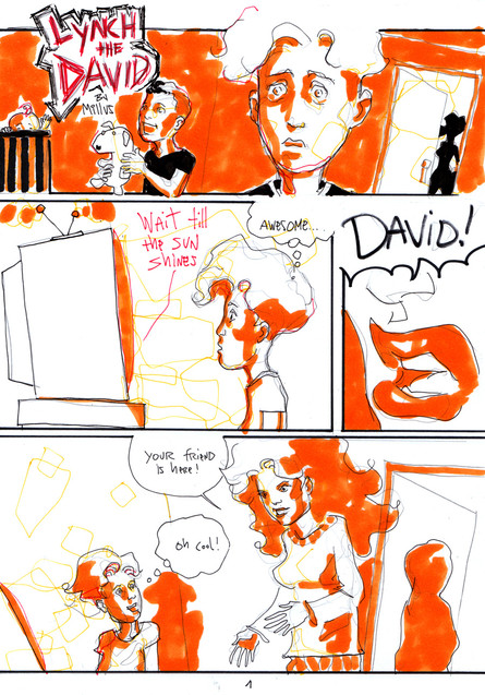 LYNCH the DAVID - a 24HCD 2013 Comic