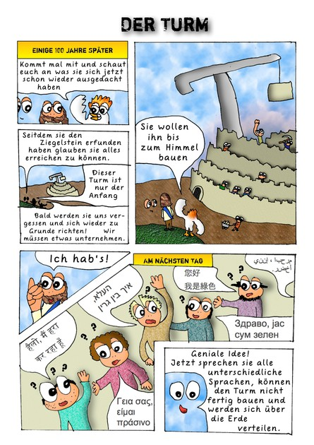 JesusComic Preloaded: Kapitel 5: Der Turm