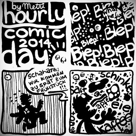 Hourly Comic Day 2014