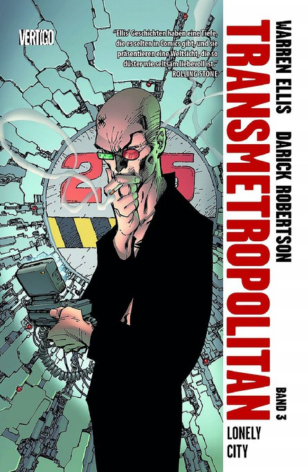 Transmetropolitan 3: Lonely City
