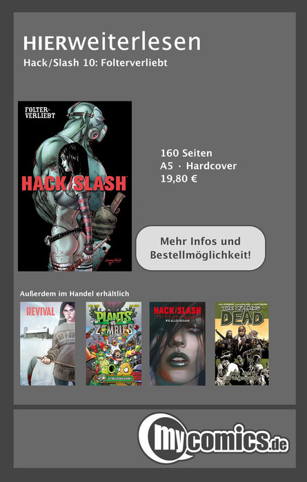 Hack/Slash 10: Folterverliebt