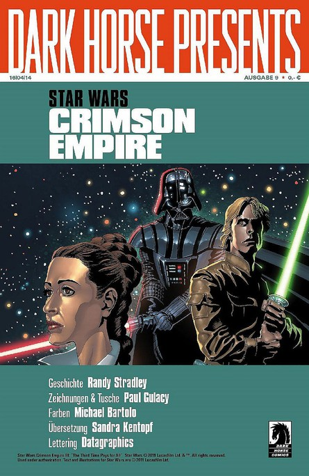 Dark Horse Presents: Star Wars - Crimson Empire III