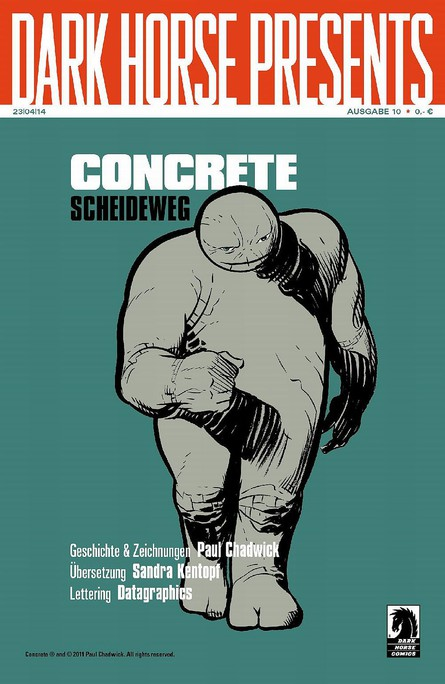 Dark Horse Presents: Concrete - Scheideweg