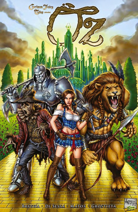 Grimm Fairy Tales: Oz Band 1