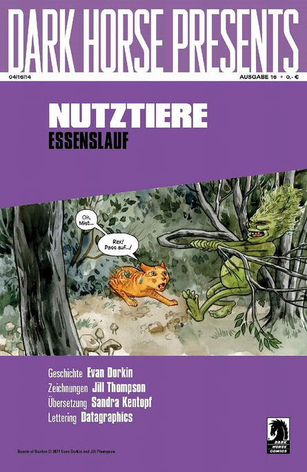 Dark Horse Presents: Nutztiere – Essenslauf