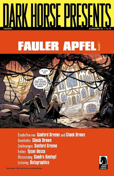 Dark Horse Presents: Fauler Apfel - Kapitel 1