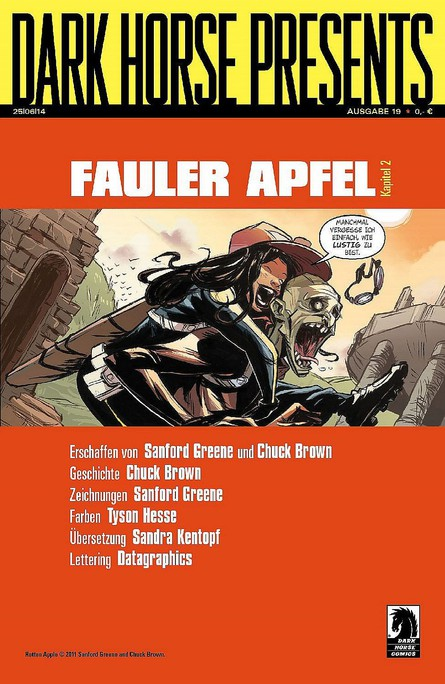 Dark Horse Presents: Fauler Apfel - Kapitel 2