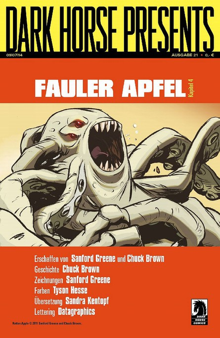 Dark Horse Presents: Fauler Apfel - Kapitel 4
