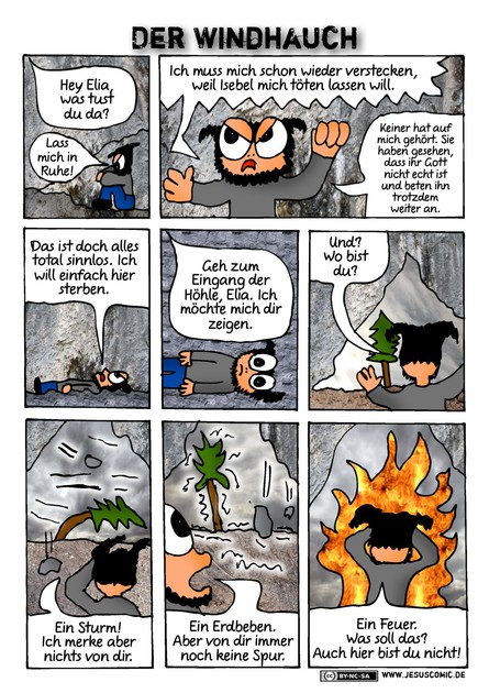 JesusComic Preloaded: Kapitel 46: Der Windhauch