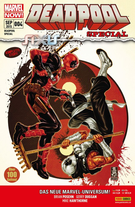 Deadpool Special 4: Axis