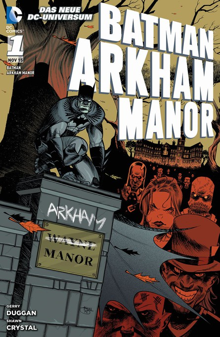 BATMAN: ARKHAM MANOR