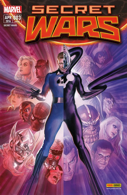 SECRET WARS 3 (VON 9)