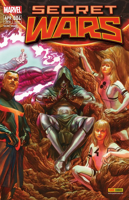 SECRET WARS 4 (VON 9)