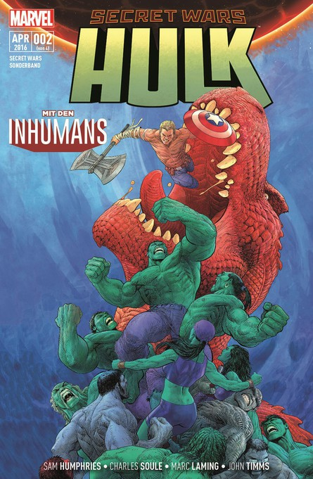 SECRET WARS SONDERBAND 2: HULK + INHUMANS