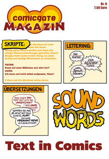 Comicgate-Magazin 9: Text in Comics
