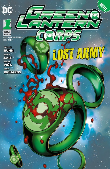 GREEN LANTERN CORPS: LOST ARMY 1 (VON 2)