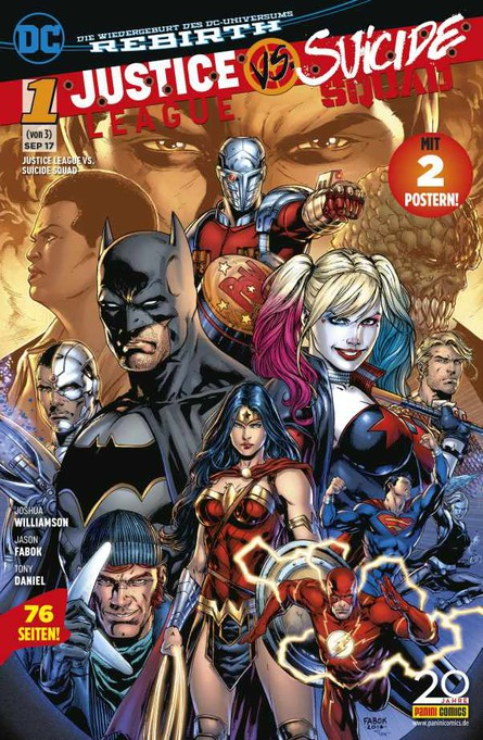JUSTICE LEAGUE VS. SUICIDE SQUAD 1 (VON 3)