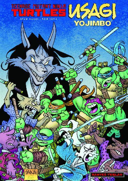 Teenage Mutant Ninja Turtles / Usagi Yojimbo - Namazu