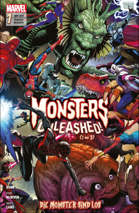 MONSTERS UNLEASHED DIE MONSTER SIND LOS 1 (VON 3)