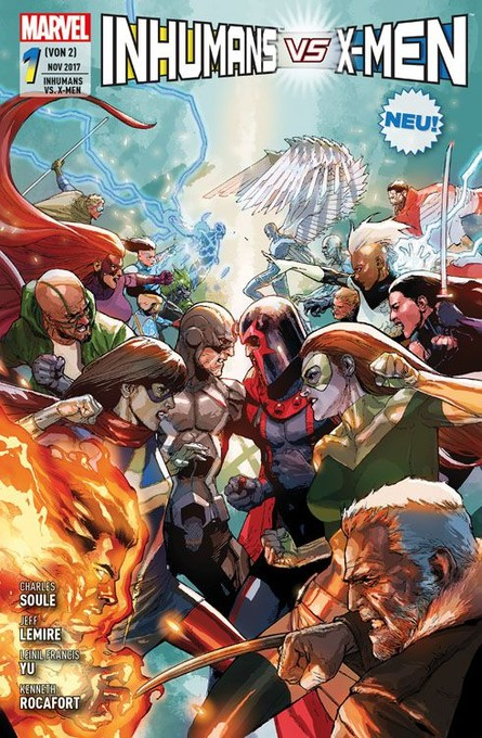 INHUMANS VS. X-MEN 1
