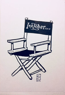 Inktober 2017 – Tote Hollywood-Regisseure