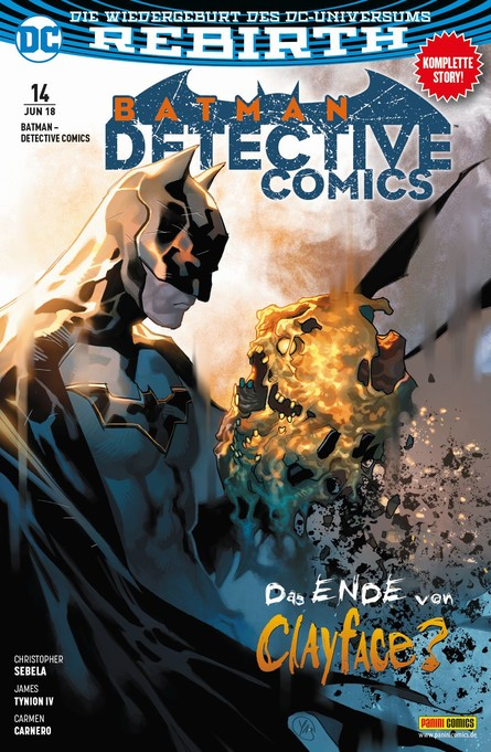 BATMAN - DETECTIVE COMICS 14