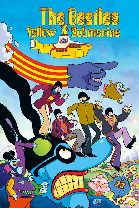 The Yellow Submarine - die Graphic Novel