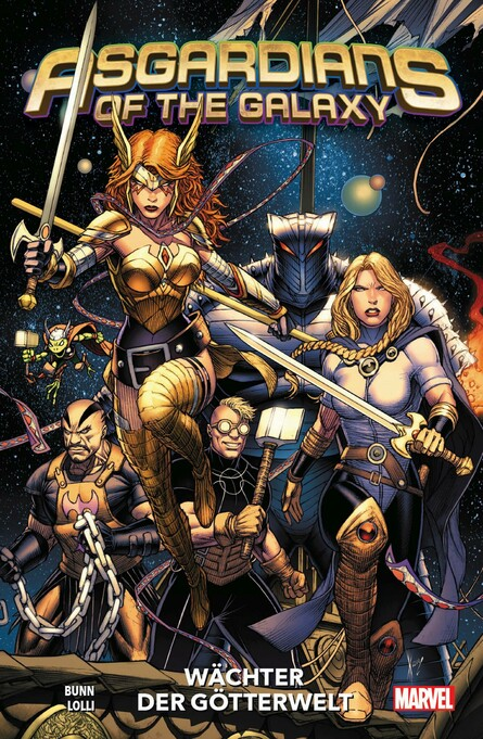 ASGARDIANS OF THE GALAXY 1