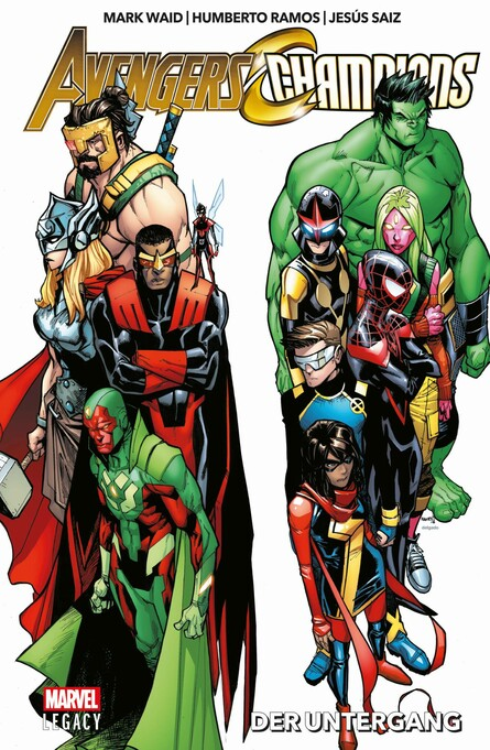 MARVEL LEGACY PAPERBACK: Avengers/Champions