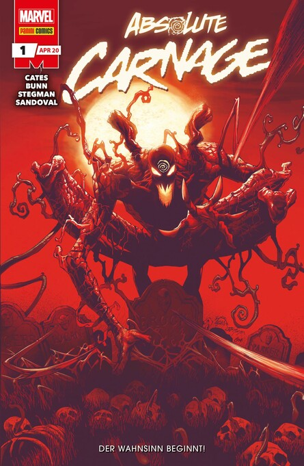 Absolute Carnage N. 1