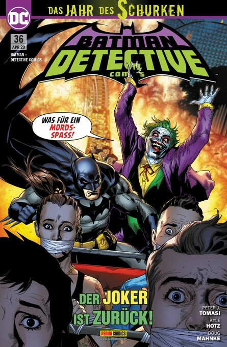 Batman: Detective Comics 36
