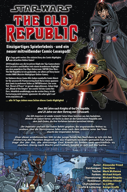 STAR WARS - THE OLD REPUBLIC II: Kapitel 7