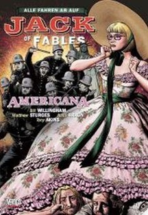 JACK OF FABLES 4: AMERICANA