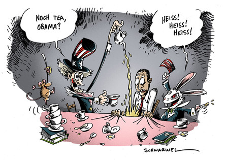 Obama und die Tea Party