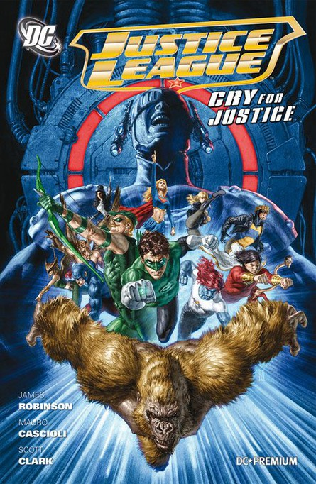 DC PREMIUM 70: JUSTICE LEAGUE CRY FOR JUSTICE HC
