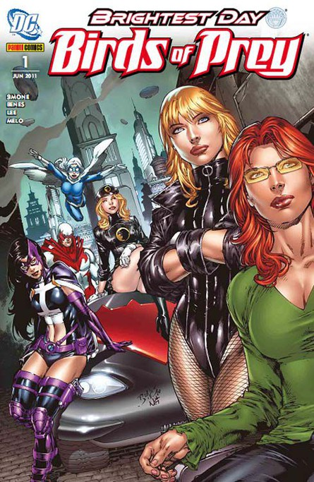 Brightest Day - Birds of Prey 1