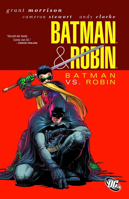 Batman & Robin. Batman vs. Robin.