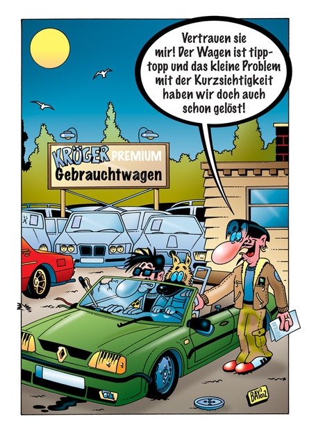Cartoon von Stefan Bayer: Tipptopp!