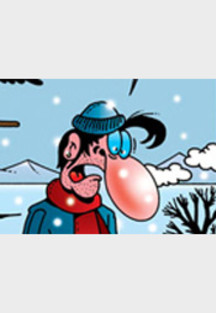 Cartoon von Stefan Bayer: Wanderlust im Winter