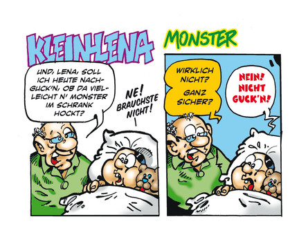 Klein-Lena: Monster!!!